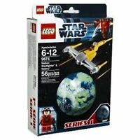 Naboo Starfighter Pilot Minifig with Miniship & Naboo STAR WARS LEGO 9674 Set