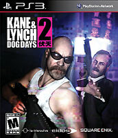 Kane & Lynch 2 - Dog Days - Sony PlayStation 3 PS3 Shooter / Action Game