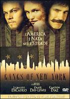 Dvd **GANGS OF NEW YORKI** di Martin Scorsese con L. Di Caprio C.Diaz nuovo 2002