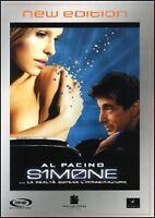 Dvd **SIMONE ♥ LA REALTÀ SUPERA L'IMMAGINAZIONE** con Al Pacino nuovo 2002