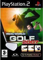 GameTrak Real World Golf 2007 (PS2), Good PlayStation2, Playstation 2 Video Game