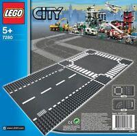 LEGO CITY 7280 RETTILINEO E INCROCIO NUOVO NEW
