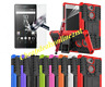 For Sony Xperia XA2 L2 ShockProof Heavy Duty Builder Case Cover & Tempered Glass