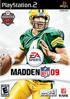 Madden NFL 09 - PlayStation 2, Acceptable PlayStation2, Playstation 2 Video Game