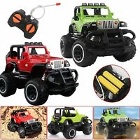 Car Ride Remote Control Kids 12v Four Way Electric Battery Toy Style Jeep RC UK