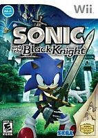 NINTENDO WII GAME SONIC & THE BLACK KNIGHT  BRAND NEW