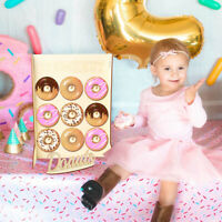 DIY Donut Wall Stand Wooden Candy Sweet Doughnut Holds Party Favour Storage Rack