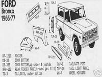 Ford Bronco & Econoline Van Universal Wheel Housing 1966-1977 Schott