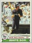 BOB MOLINARO 1979 TOPPS AUTOGRAPHED CHICAGO WHITE SOX  BASEBALL CARD  PSA/DNA
