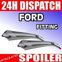 """Flat FX windscreen Wiper Blades Ford transit 06+ 28/24"""""""