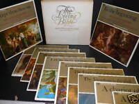 The LIVING BIBLE 12 lp set Sir Laurence Olivier Mercury