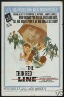 THE THIN RED LINE 27x41 Original Movie Poster One Sheet