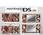 nintendo DS Lite - WWE WRESTLING 4 Piece Decal / Sticker Skin vinyl