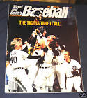 1985 Street & Smith's Baseball Yearbook Detroit Tigers