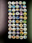 1999-2008 Complete Set Of 50 Colorized State Quarters