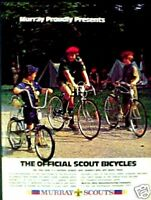 1975 Murray Offical Boy,Cub Scout Bicycle Bike Print Ad