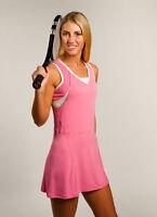 PERFORMANCE Pink Tennis Dress Cruise Control XS S L XL