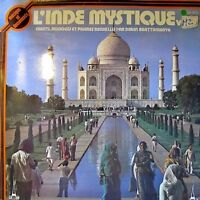 L'INDE MYSTIQUE vol 2 bhajana/gajan/melodie baul LP VG+