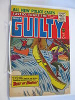 Justice Traps the Guilty 81 vg+