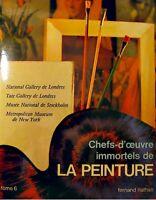 CHEFS-D'OEUVRE PEINTURE 6 national gallery londres EX++
