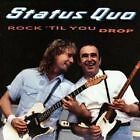 "STATUS QUO "" ROCK' TIL YOU DROP"" CD"