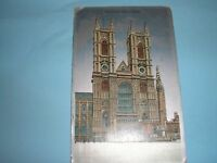 OLD POSTCARD OF WESTMINSTER ABBEY LONDON