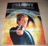 Filmposter A1 Neu Poster Felony - Die CIA-Verschwörung
