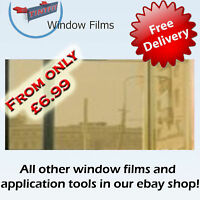 MIRROR GOLD 80% ONE WAY WINDOW TINTING TINT FILM !