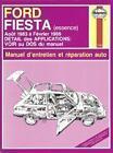 Revue Technique Automobile FORD FIESTA essence N/1782