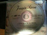 JOAQUIN SABINA CD SINGLE EL ROCANROL DE LOS IDIOTAS