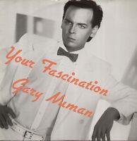 """GARY NUMAN Your Fascination UK 12"""" vinyl single EXCELLENT CONDITION"""