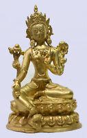 BUDDHA GRÜNE TARA  BUDDHISMUS Tibet Indien Nepal M15