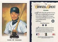 2002 ICHIRO DONRUSS DIAMOND KINGS # 74   LOT OF 5 CARDS !!