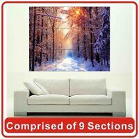 Winter Forest Wall Art Poster Print New