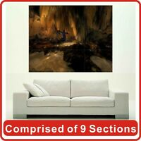 Abstract Cave Wall Art Poster Print New