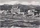 CARTOLINA VIAREGGIO - PANORAMA CON HOTEL ROYAL - VIAGGIATA 1957