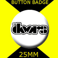 THE DOORS - LOGO - Button Badge 25mm # CD 1