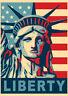 Poster NY USA New York - LIBERTY Statua Libertà AMERICA - Manifesto 50x70!