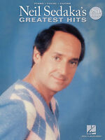 NEIL SEDAKA'S GREATEST HITS - PIANO/VOCAL/GUITAR SONGBOOK - 20% OFF!