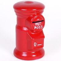 RED POST BOX DESIGN MONEY BOX - BRAND NEW