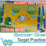 Soccer Goal Target Practice with Ball & Pump Football Training Set Kids Junior