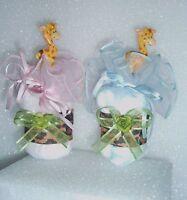 GIRAFFE SAFARI DIAPER CUPCAKES BABY SHOWER TOPPER CAKE 1 FAVOR GIFT BOY or GIRL