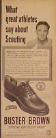 1951 Ralph Kiner Pittsburgh Pirates Baseball Buster Brown Shoes Promo Print Ad