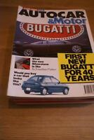 Autocar 20 Feb 1991 Peugeot 605 SRdt & Vauxhall Calibra 4x4 TESTED