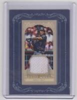 Jose Reyes 2012 Topps Gypsy Queen Mini Framed Jersey Relic White Swatch