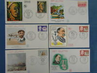 47 FDC ENVELOPPES PREMIER JOUR ANNEE 1971 ERSTTAG FIRST DAY COVER (Lot 6)