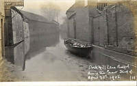 Bedford. Duck Mill Lane during the Great Flood of 1908 by Blake & Edgar # 16.