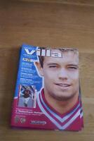 Aston Villa V Tottenham Hotspur 18th Jan 2003