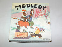 VINTAGE OLD TOY  1939 MILTON BRADLEY TIDDLEDY WINKS GAME
