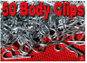 50 - 10th RC Body Pins for Traxxas EMaxx Revo Rustler Slash Stampede Summit